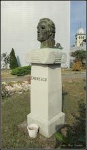 Photo: Turda - Piata 1 Decembrie 1918 - Portretul lui Mihai Eminescu   - 2018.10.19