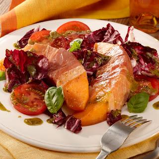 Pikanter Melonen-Salat