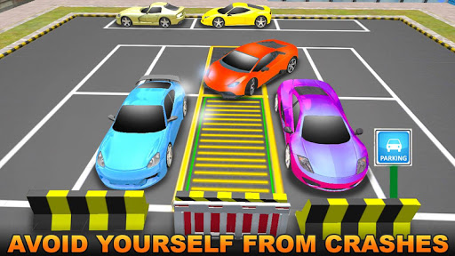 Sports Car City Parking Sim Igre (APK) brezplačno prenesete za Android/PC/Windows screenshot