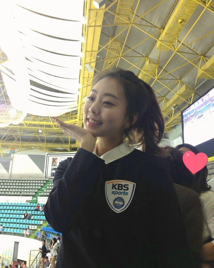 Korean Olympic Figure Skater Kwak Min Jeong Going Viral