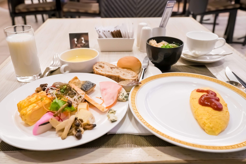Breakfast at ANA Crowne Plaza Fukuoka