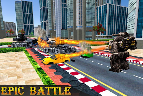 Police Robot Transform Rampage - Android Apps on Google Play