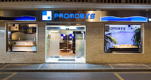 Oficina central de Promobys, ubicada en Tíjola.