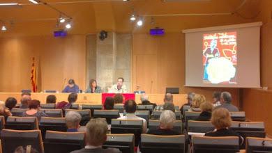 Photo: Presentació de la Dictada pel professor Jaume Figueras