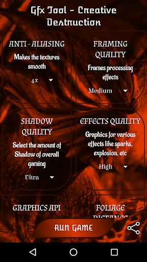 Outil GFX pour la destruction créative  APK MOD screenshots 6