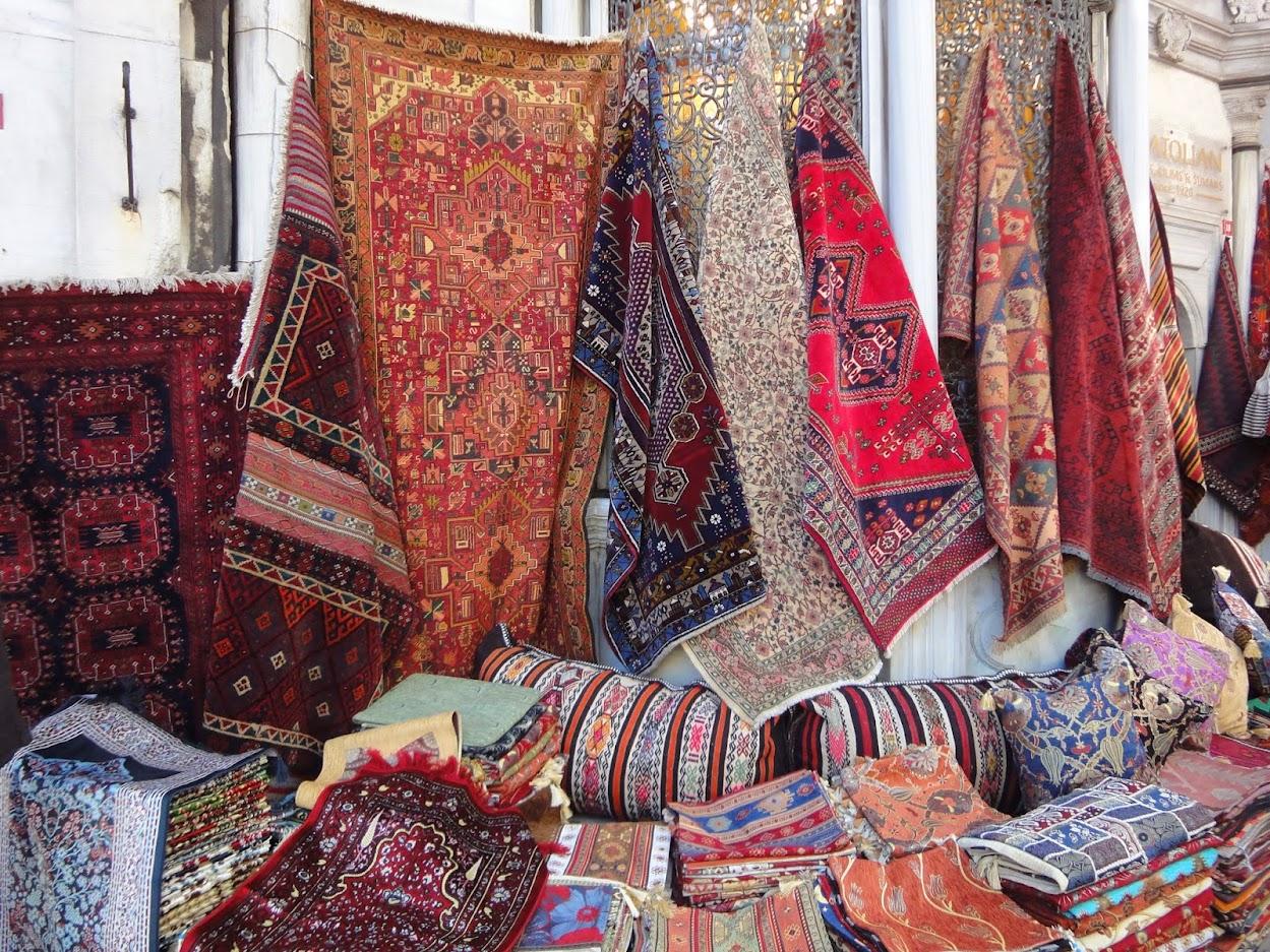 Tapis au grand bazar d'Istanbul