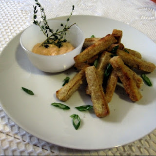 Tofu Fries with Chipotle Mayo