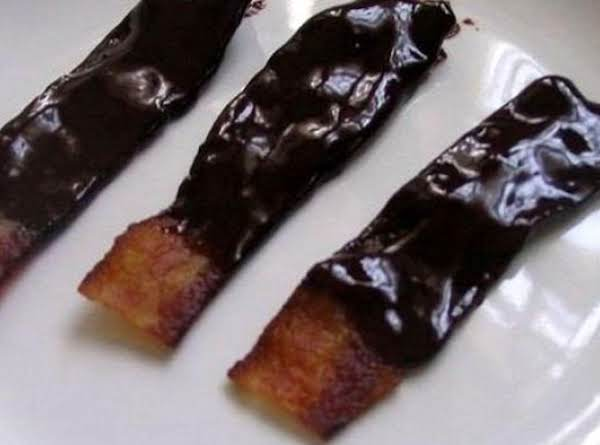 Chocolate Covered Bacon Candy!!! image
