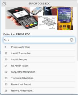 ERROR CODE EDC (ECE) - náhled