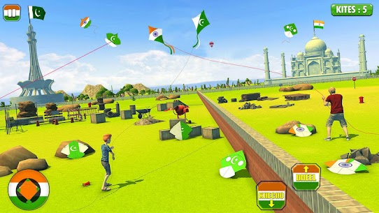India Vs Pakistan Kite Flying Combat 2