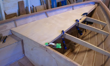 Photo: Test fitting the aft deck