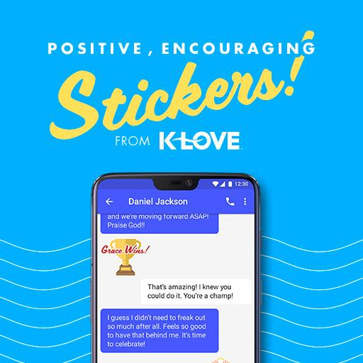 K-LOVE Stickers