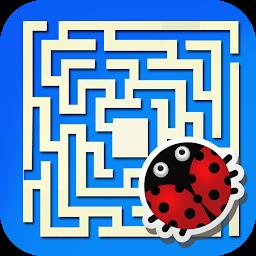 Magic pacman maze