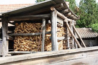 Photo: Day 74 - Maize Store in a Village