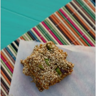 Sesame and Pistachio Snacks (Pastelli)