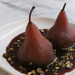 Instant Pot Poached Pears.