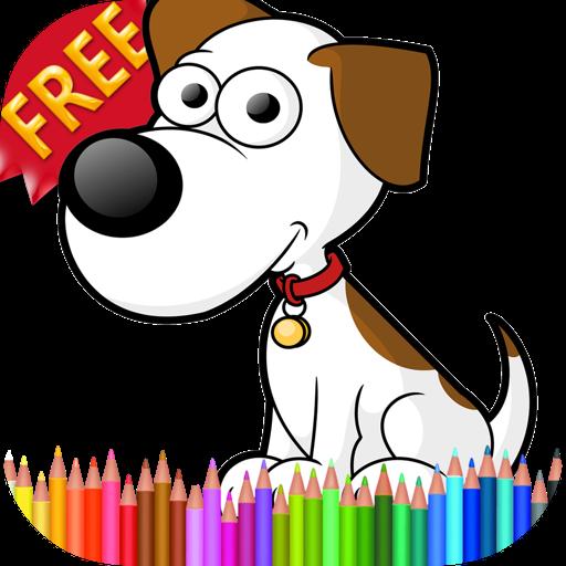 解谜の塗り絵犬 LOGO-記事Game