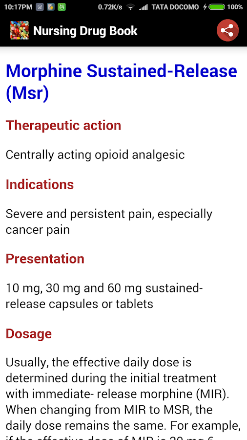 Nursing Drug Book- screenshot