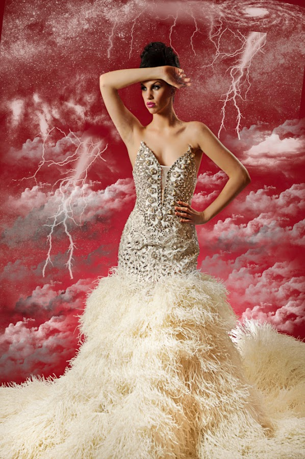 Bride in Clouds by Muzna Butt - People Fashion