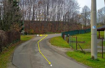 Photo: KUNČIČKY U BAŠKY  (A) - trasa směr Hodoňovice, Beskydy (B) - trasa směr F - M, Paskov