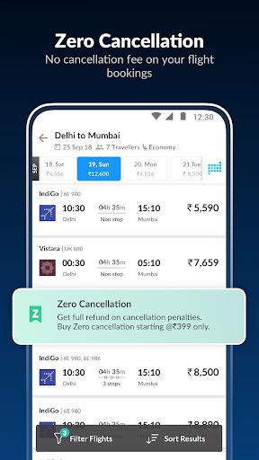 MakeMyTrip-Flight Hotel Bus Cab IRCTC Rail Booking screenshot 3