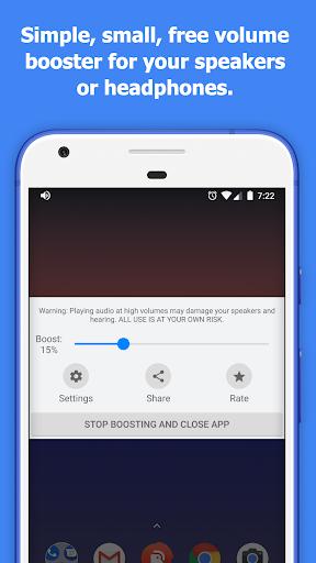 Speaker Boost - Volume Booster 3.0.7 screenshots 1