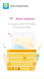 Kika Emoji Keyboard - GIF Free v3.9.1