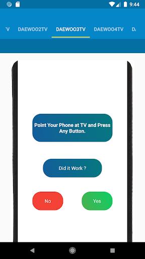 Daewoo TV Remote Control 1.1.7 screenshots 3