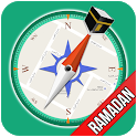 Qibla Compass - Ramadan 2021, Prayer Times, Quran icon