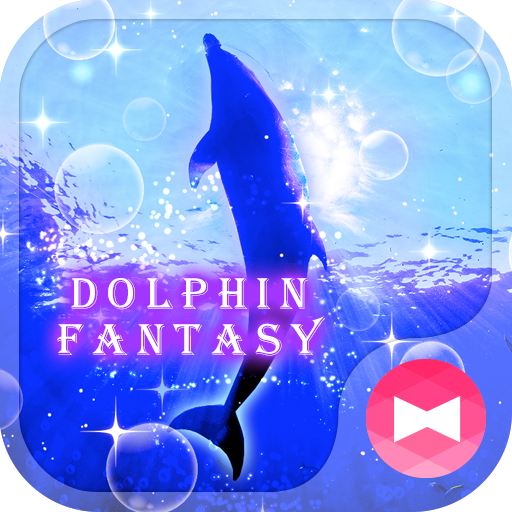 Beautiful Wallpaper Dolphin Fantasy Theme Icon