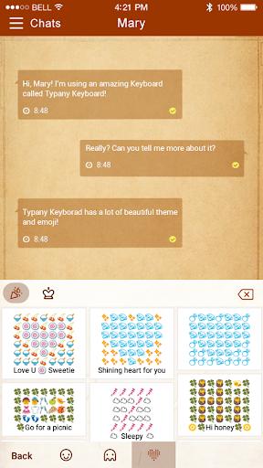 mod Old Paper Typany Theme 4.5 screenshots 4