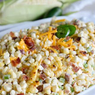 Jalapeño Popper Grilled Corn Salad.