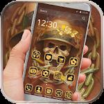 Golden Skull Cigarette icon