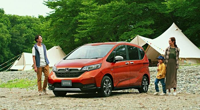 Honda Freed Crosstar รุ่นย่อยใหม่เอาใจสายลุย