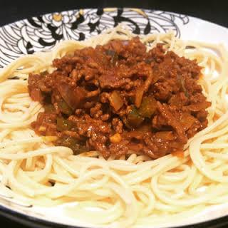 Spaghetti Bolognese No Tomato Recipes.