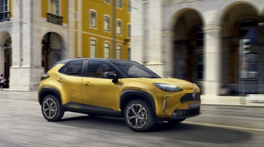 Ya puedes reservar tu Toyota Yaris Cross Electric Hybrid en Toyota Almería