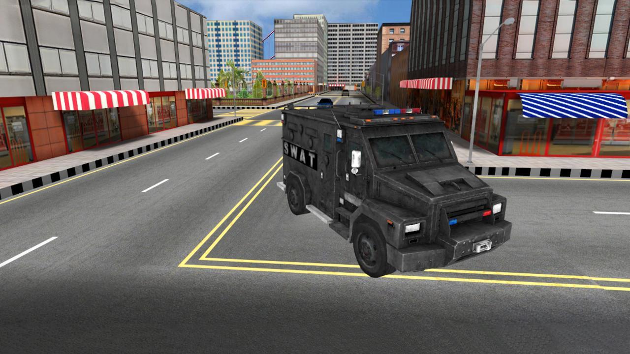 Swat police car chase screenshot