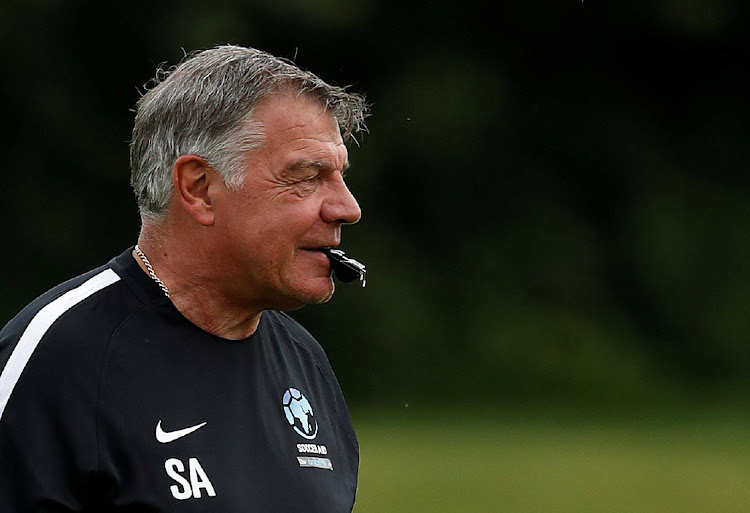 Sam Allardyce during training. Picture: REUTERS/ANDREW BOYERS