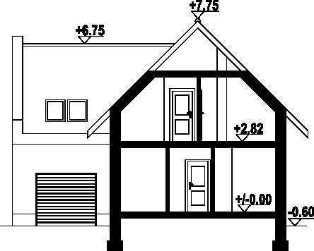 Gronowo y - Przekrój