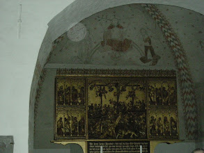Photo: Alterpiece from 1528 by Claus Berg from Lubeck, Germany--8/23/08