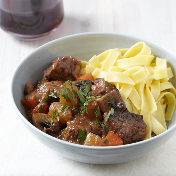 Pressure Cooker Beef Stew with Turnips and Mushrooms Recipe