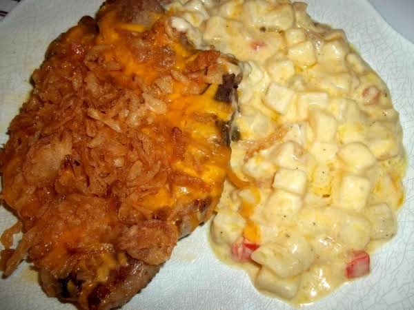 My Pork Chop Casserole- Delish!