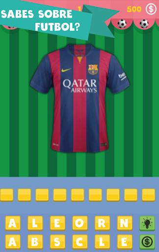 Fútbol Shirt Quiz