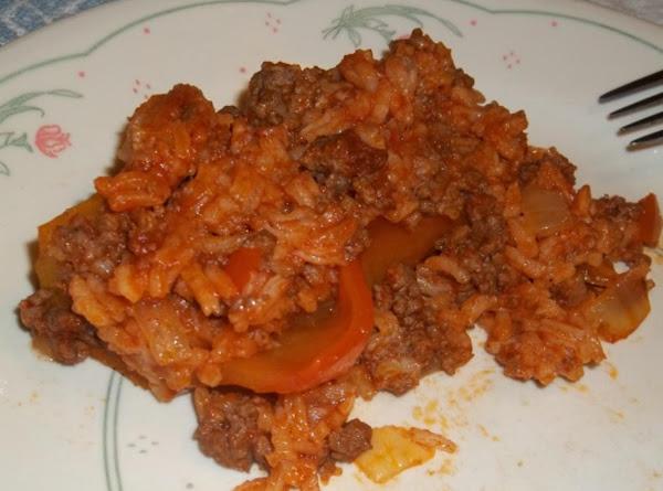 Unstuffed Peppers Recipe