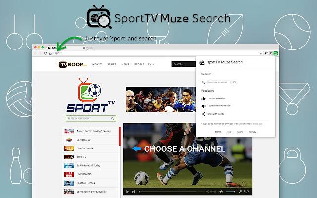 sportTV Muze Search
