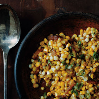 Corn with Bacon and Miso Butter