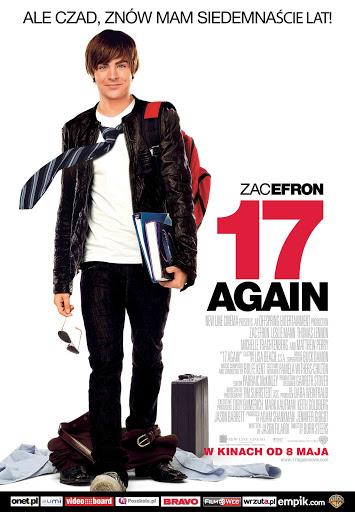 Polski plakat filmu '17 Again'