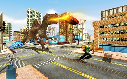 Angry Dinosaur City Rampage 1.0.2 screenshots 2