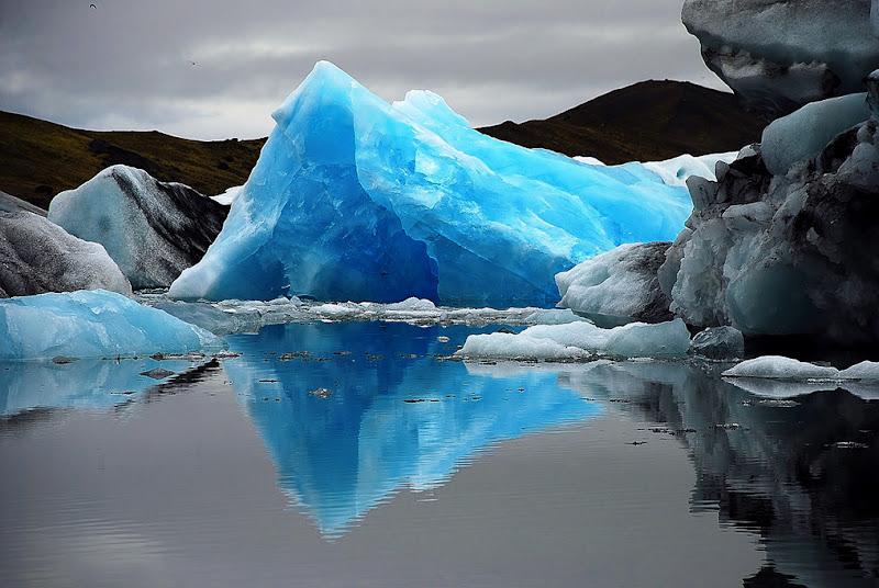 Iceberg azzurro di Clara