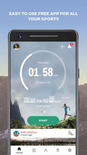 Sports Tracker Running Cycling